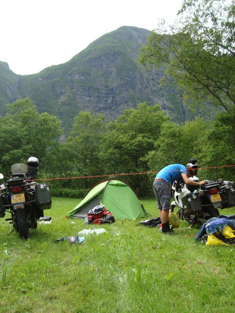 Camping Trollstigen.