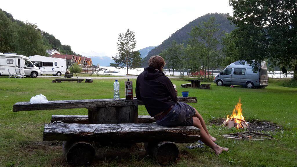 Camping Kaupanger.