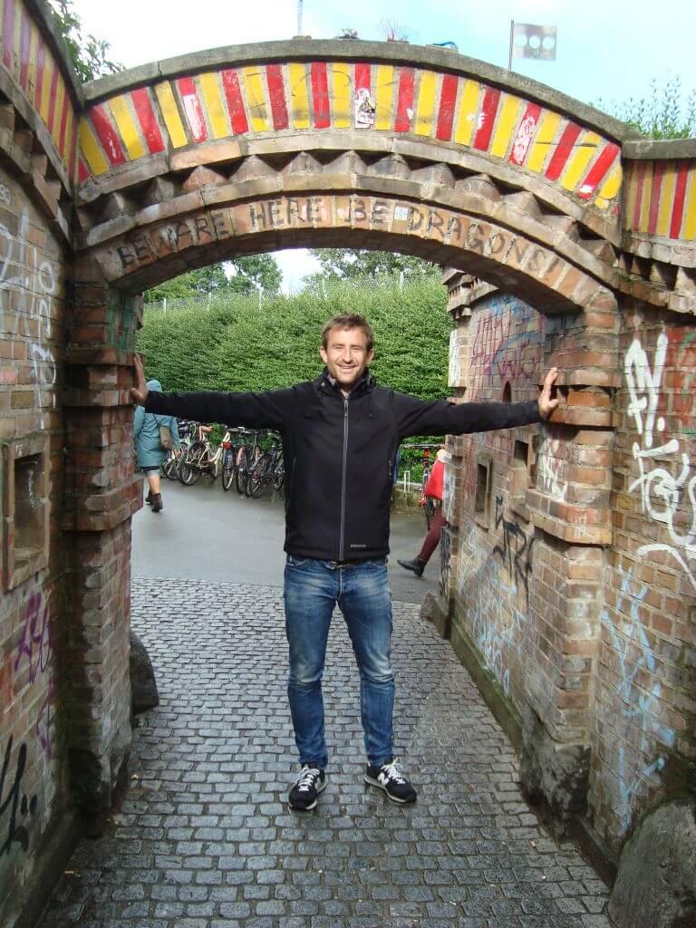 Entrance Kristianshavn.