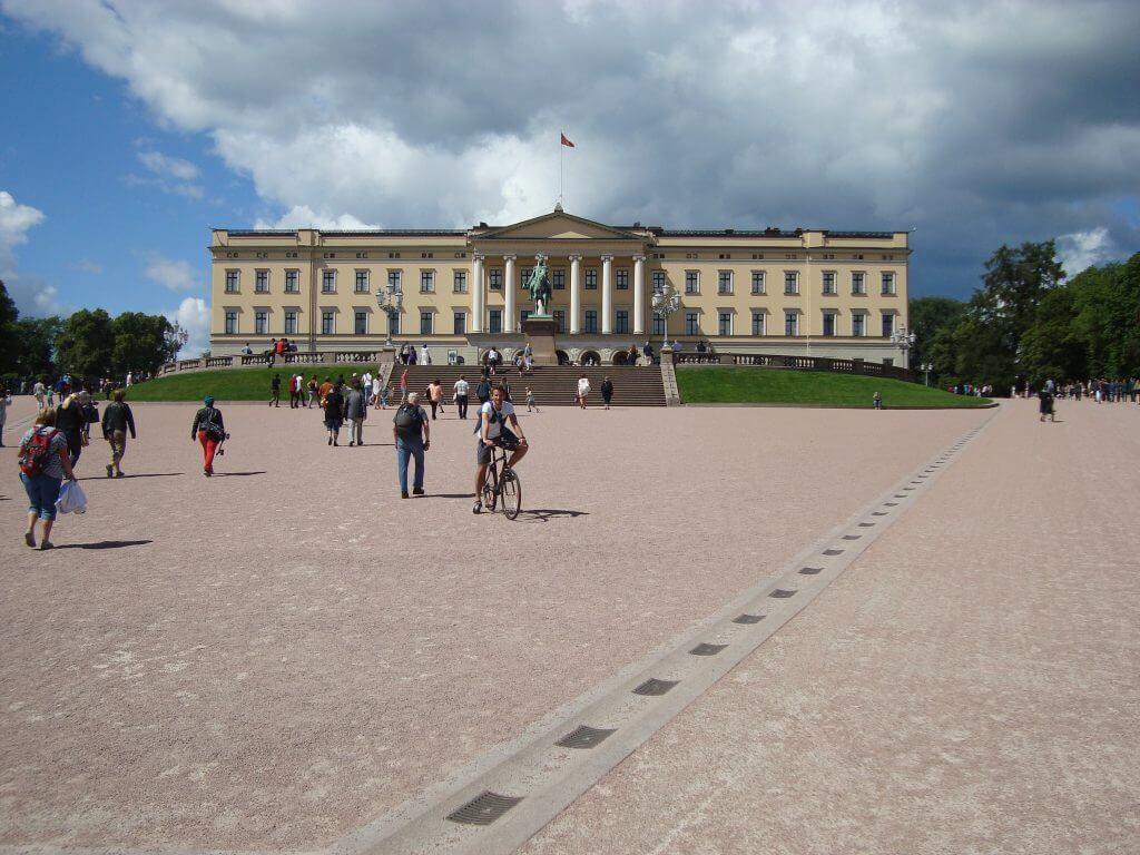 Royal Palace Oslo.