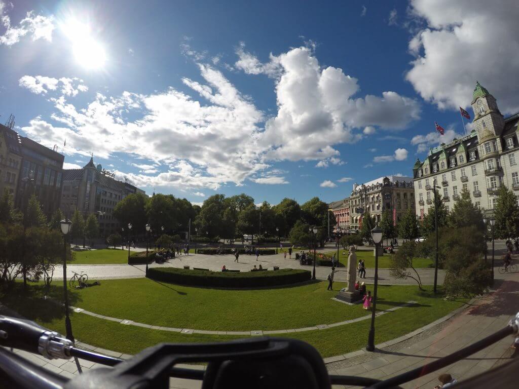 Oslo city.