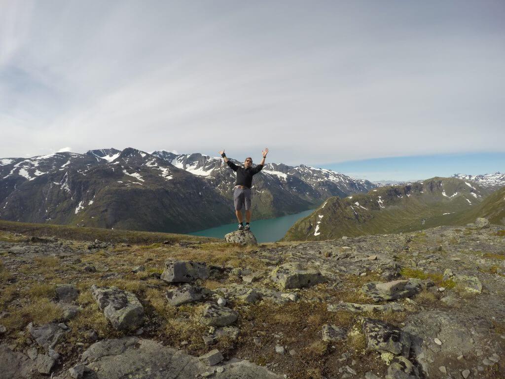 20160707 Beseggen trail.